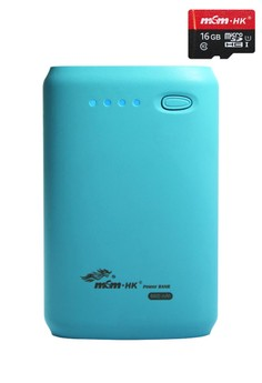 Powerbank 8400mAh With FREE 16GB MICRO-SD CARD Class10