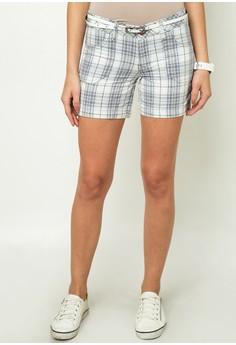 Stretchable Denim Shorts