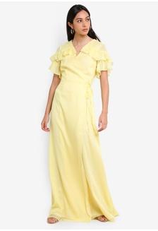 92b222613f Frill Maxi Dress 4E623AA9175C79GS 1