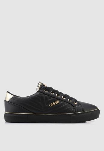 Guess 黑色 菱格紋運動鞋 C7046SHCA2B617GS_1