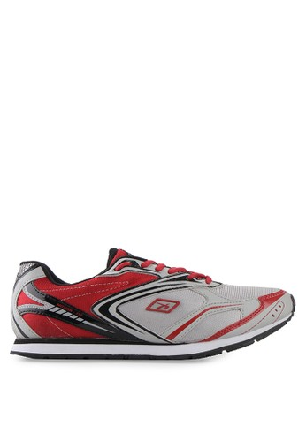 Spotec red and grey Unlimited Running Shoes SP567SH01FKGID_1
