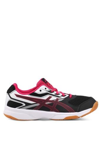 Asics black Upcourt 2 Shoes AS989SH0SVR5MY_1
