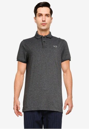 Hollister black Core Polo Shirt BE382AA8F74563GS_1