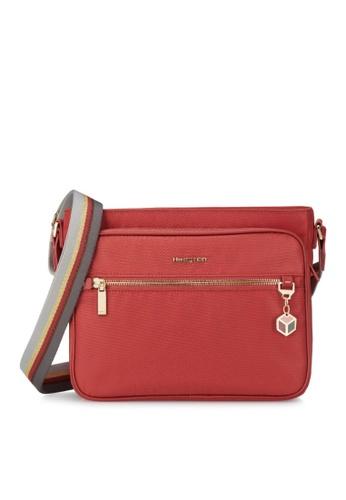 Hedgren red Hedgren Women Magical M Crossover Multi Pockets Medium Bag Tandoori Red - 5.59L B06E9ACB010CAFGS_1