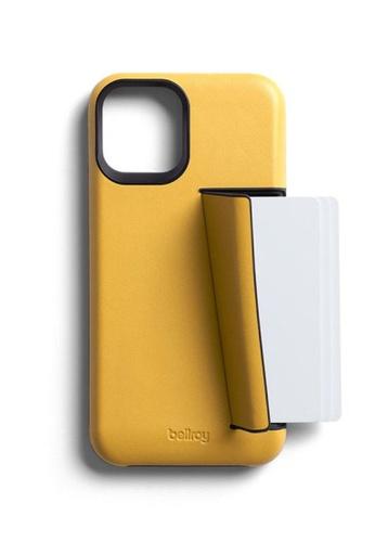 Bellroy yellow Bellroy Phone Case - 3 Card iPhone 12 Pro - Lemon 3A318AC9A955A6GS_1