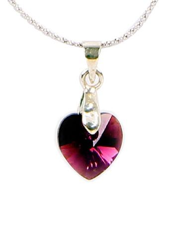 CELOVIS S-Series Swarovski® Crystal Pendant (Purple) CE446AC65LVIMY_1