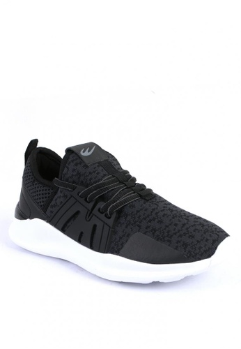 World Balance black Torcher Men's Sneakers 36801SH3A006C4GS_1