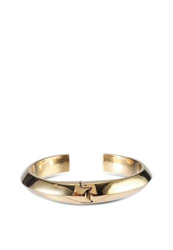 kate spade new york gold Raise The Bar Cuff (cv) 734FDAC24370C0GS_1