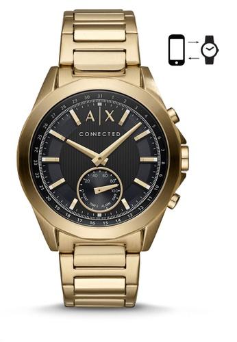 Armani Exchange gold Armani Exchange Drexler Smart Watch AXT1008 ED661ACD3B750CGS_1