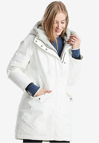 Aigle white Tralu Gore-Tex® Waterproof Jacket 72D5FAA128D23EGS_1