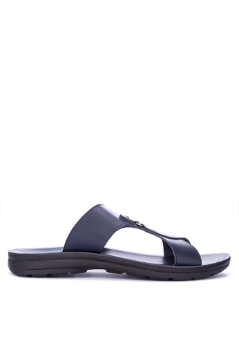 H2Ocean navy Aven Sandals EFA52SHAB06BDAGS_1