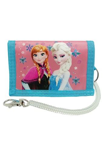 Disney Frozen pink and blue Disney Frozen Tri Fold Wallet 5E4B3KCE60D3D4GS_1