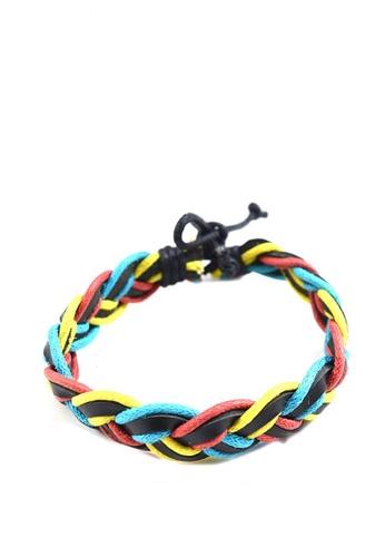 Jewelplace multi Rope Leather Bracelet JE882AC0K1AVPH_1