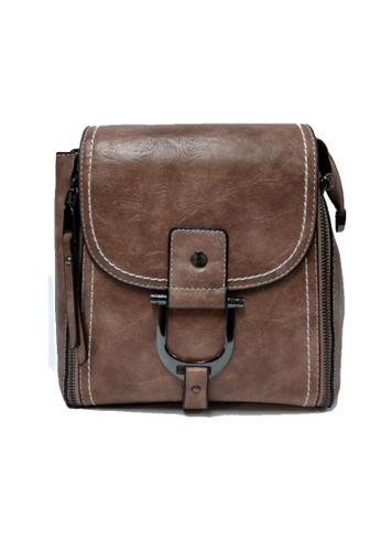 Lara brown Fashion Zipper Crossbody Bags 0AEA7AC10A9A12GS_1