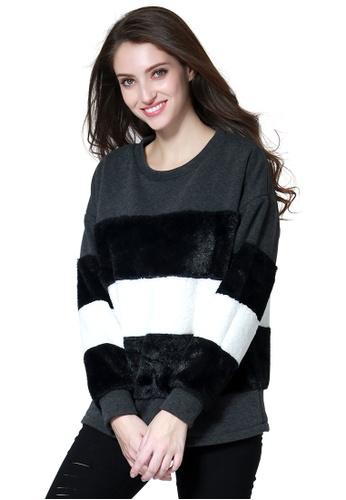 London Rag black Black Sweatshirt 0ABF6AAC9AF1F6GS_1