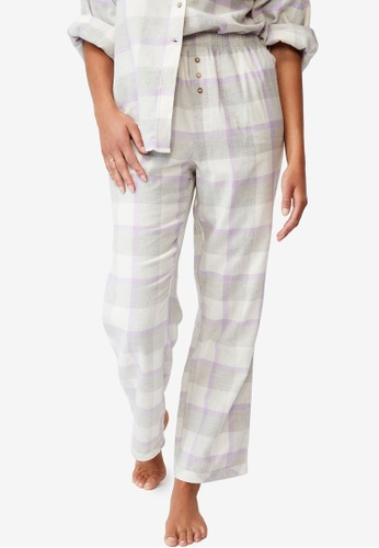Cotton On Body multi Warm Flannel Sleep Pants 22D39AA564FE77GS_1