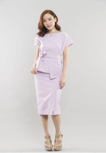 Theory Of Mine green and purple Ivana Skirt 38951AA1D39B90GS_1