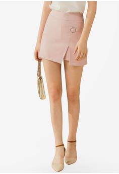 7f78adf4e270a Eyescream pink High Slit Mini Skirt ADC9CAA11EF819GS 1