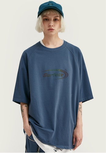 Twenty Eight Shoes Loose Reflective Printed Short T-shirt 1060S20 15950AA82ECE36GS_1