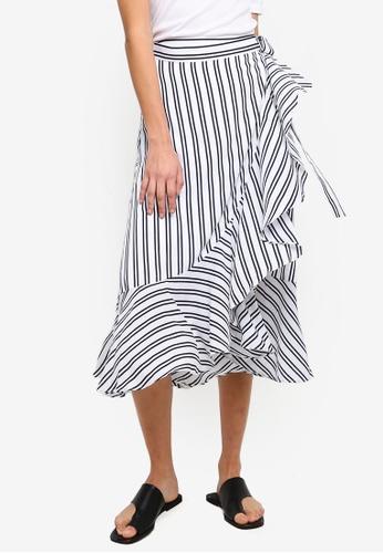 521036d5c Buy Banana Republic Woven Flounce Wrap Skirt Online on ZALORA Singapore