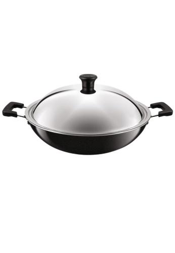 TEFAL Tefal Non-stick Wok w/Lid 40cm C52897 B6E47HLEC0FC91GS_1