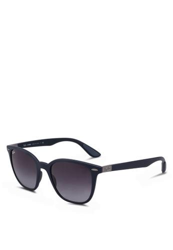 8b15315e665 Ray-Ban blue RB4297 Sunglasses DE25BGL9D47FA1GS 1