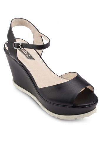 基本款厚底楔形涼鞋, 女鞋esprit 雨傘, 鞋