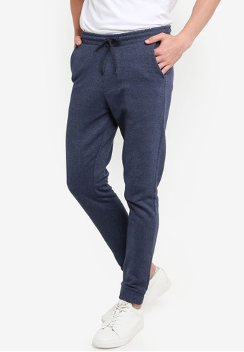 KOTON blue Casual Sweat Bottoms 41462AA88C4BDDGS_1