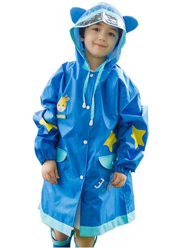 Twenty Eight Shoes blue VANSA Fashion Cartoon Raincoat VCK-R15280B 836E4KAA43D58BGS_1