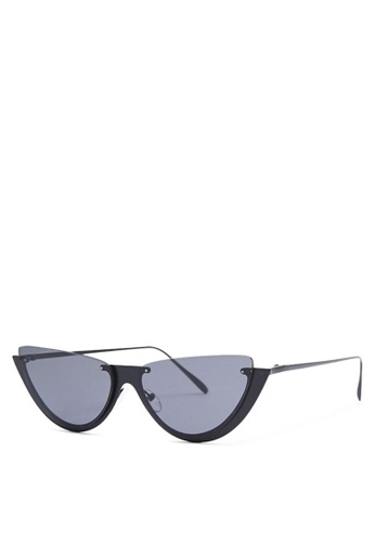 de341fee33 Buy FOREVER 21 Premium Metal Cateye Sunglasses Online | ZALORA Malaysia
