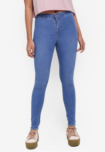 Factorie blue The Crop Jeggings 58A76AA7AEAC73GS_1