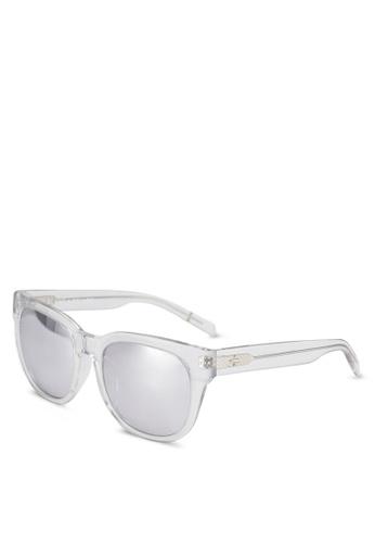 BLANC & ECLARE white Seoul Sunglasses 62133GL7DAEC5AGS_1