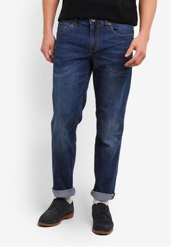 Calvin Klein blue Body Fit Jeans - Calvin Klein Jeans CA221AA0SA4OMY_1