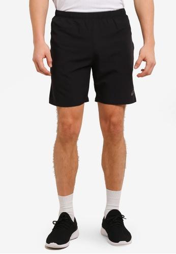 "Asics black 7"" Shorts AS989AA0SD3ZMY_1"