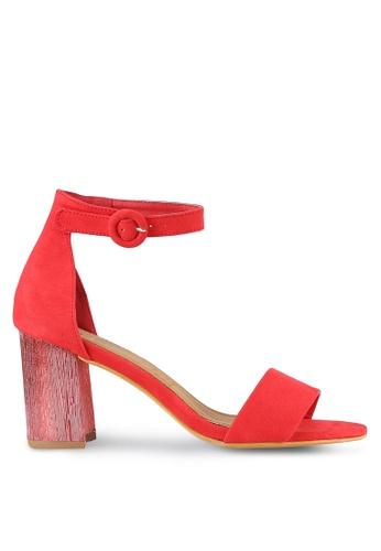 Rubi red Mambo Flared Heels RU506SH0RZQJMY_1