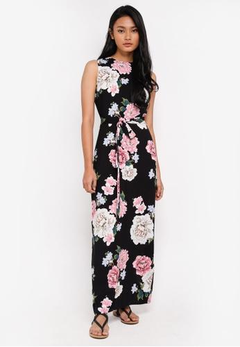 Dorothy Perkins black Floral Sleeveless Maxi C1947AA3E23C9DGS_1