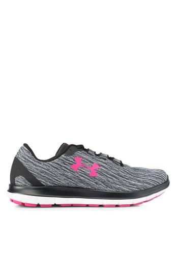 Under Armour black and white UA W Remix Shoes UN337SH0SUA5MY_1