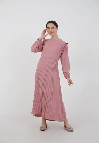 Berrybenka Label purple Sophie Muhara Ruffle Dress Purple C4BC0AAB9381A0GS_1