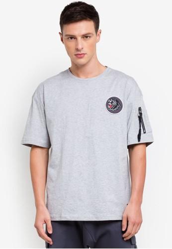 Flesh Imp grey Panther T-Shirt E5CBFAA4BAA9A9GS_1