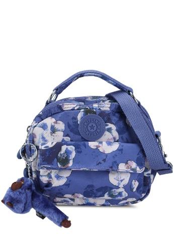 Kipling blue and multi Puck Handbag 18B0DACC23D8BAGS_1