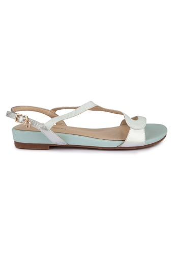MAUD FRIZON blue Soft kid sandals MA153SH94YCRHK_1