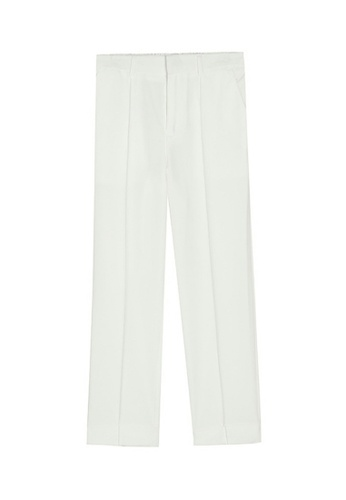 HAPPY FRIDAYS Comfortable Texture Pants M8-A-2365 2A8BAAACE71E10GS_1