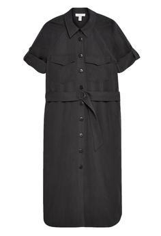 c10db66b91e2 TOPSHOP Petite Utility Midi Shirt Dress S$ 99.90. Sizes 6 8 10
