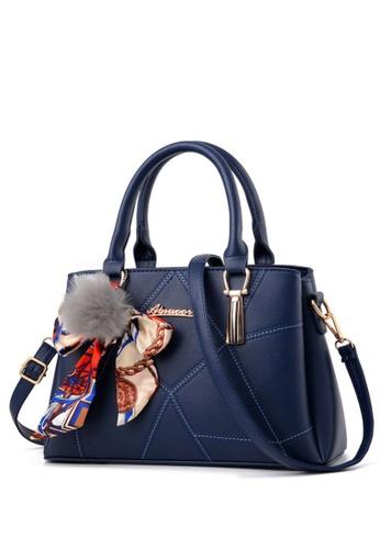 TCWK blue TCWK Korea Style Blue Ladies Handbag TC258AC0S9WLMY_1