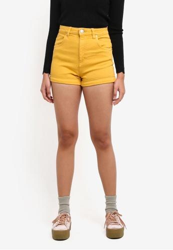 Cotton On multi High Rise Classic Stretch Denim Shorts 95CDBAAEC446AFGS_1