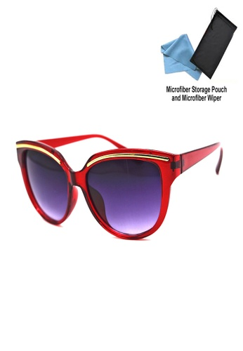 Manmico red Iwear Collection Fashion Eyewear BJ 5087 with free Microfiber Storage Pouch and Wiper MA606GL37ROKPH_1