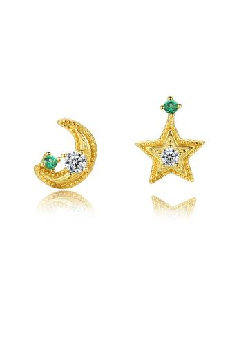 SUNRAIS silver High-end Silver S925 silver fashion earrings 8B903AC0F21C65GS_1