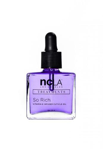 NCLA purple NCLA So Rich Vitamin E Infused Cuticle Oil - Rose Petals 13.3ml NC633BE02UTDSG_1