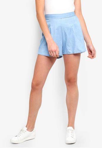 Cotton On blue Maya Flirty Shorts 085D9AA42365CEGS_1
