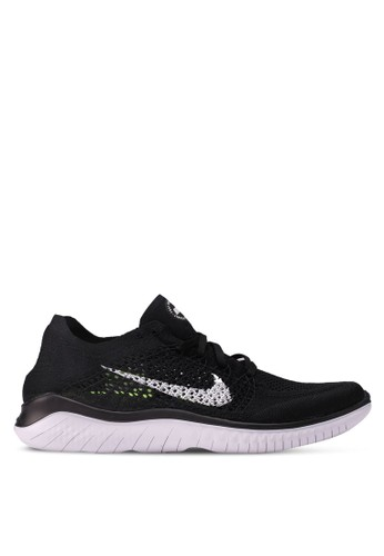 huge discount 2564c 649ee Nike black Nike Free RN Flyknit 2018 Shoes BB262SH6607AD9GS 1